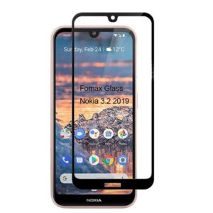 Fomax Tech 2019 Nokia 3.2 tempered glass screen protector full coverage-NK3209