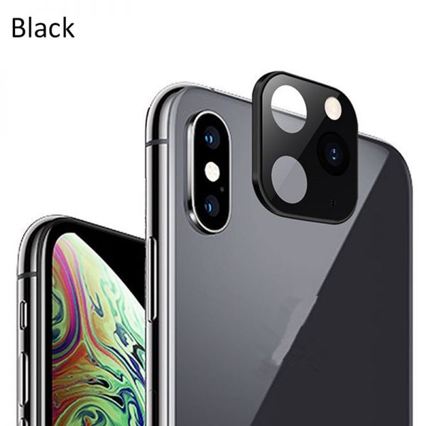 camera lens protector makes iPhone Xs change to iPhone 11 Pro