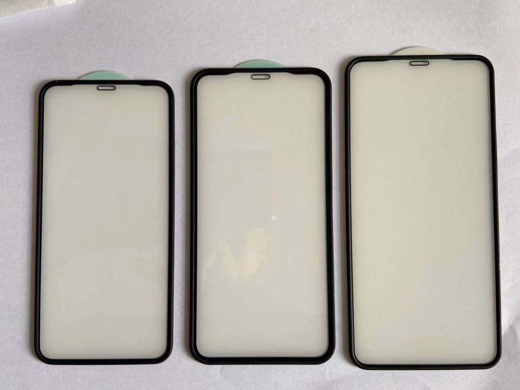 rubber edge tempered glass protector
